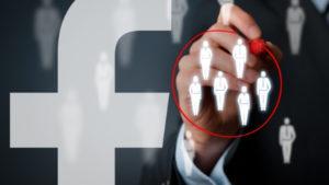 Facebook ad targeting audience